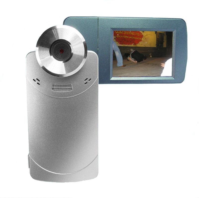 Palm Digital Video Camera - 2.5 Inch TFT LCD Rotating Screen